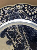 Assiette décorative Delft 18,5 cm