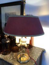 Lampe bouillotte breloques couture vintage.