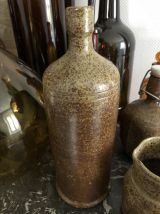 Trio bouteilles et cruchon vintage.