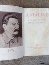 J.Staline - Les questions de léninisme 1947