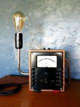 """Lampe vintage, lampe industrielle - """"1000 Volts"""""""
