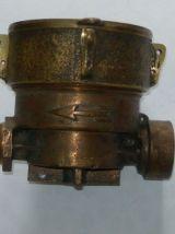 Ancien compteur d'eau laiton