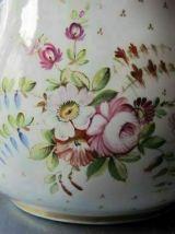 grande carafe/ cruche ancienne en porcelaine américaine