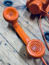 Téléphone orange 1970