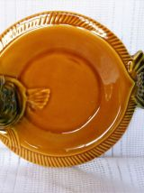 Assiettes à poissons, assiettes plates céramique.