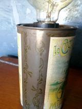 """Lampe vintage, lampe de table, lampe de bureau -  """"Cyclone"""""""