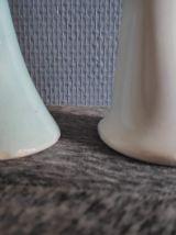 soliflores blanc et turquoise