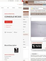 Magnigfique console  MC500 Marais International
