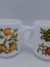 Duo de mugs Arcopal Pot-au-feu