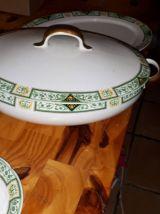 Services porcelaine de limoges B&Cie (Vert/jaune / noir)