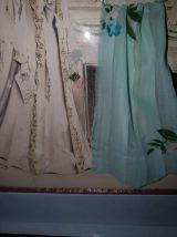 Gravure de mode sous verre