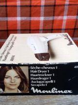 Sèche cheveux Moulinex dans sa boite d'origine