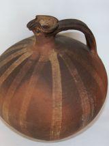 Grand cruchon en terre cuite du 19e provenance Gascogne.