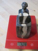 Sculpture en raku de style afriquaine piece unique