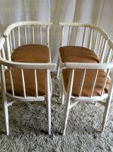 Ensemble THONET - 4 chaises et la table - Années 60