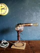 "Lampe vintage, lampe industrielle ""Brushing lumineux"""