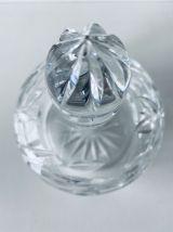 Bonbonnière ancienne en cristal taillé