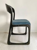 Chaise traîneau Baumann vintage 60's