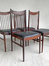Ensemble de 4 chaises scandinaves