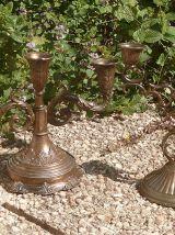chandeliers  en  metal ,vintage