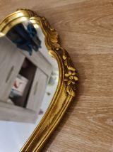Miroir baroque doré vintage (style Louis XV)