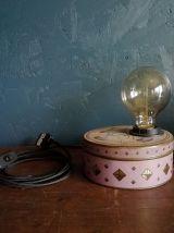 """Lampe vintage, lampe de table, lampe de bureau -  """"La Bonne"""