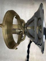 ANCIENNE LAMPE A POSER EN OPALINE VINTAGE