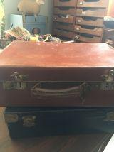 valises carton bouilli en lot