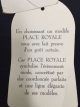 Pantalon BLEU MARINE marque Place Royale Taille 38