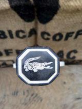 Raquette Lacoste vintage et sa housse de protection