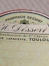 boîte pharmacie ronde Toulouse