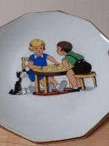 Dinette service à gâteau, années  60, de famille