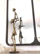 Statuette le violoniste en laiton Ht 46cm