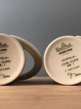 RARE ET ORIGINAL : Love cups Nr 1 ROSENTHAL  en porcelaine