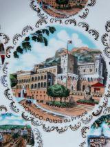 Assiette Monaco  Palais du Prince. En Limoges.