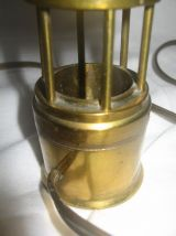 Lampe veilleuse phare en laiton