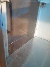 vitrine medicale  fonte d acier   1930 a 40   h126cm x 31x51