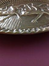 Deux objets en  bronzes dorés début XXe