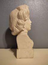 buste de Marilyn Monroe en plâtre