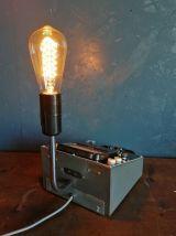 """Lampe industrielle, lampe vintage - """"Métrix"""""""
