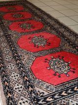 Tapis vintage Ouzbek Bukhara fait main, 1C712