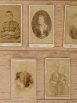 Photos anciennes portraits carte de visite