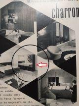 Armoire dressing design R-J Caillette années 60 palissandre