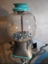 distributeur bonbon gumball ,,silver king  1940 a 50s   ,,,,
