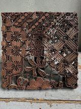 Ancienne empreinte en cuivre