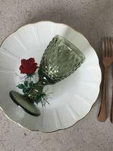 Série de 4 assiettes vintage