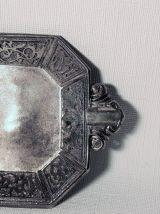 Vide poche vintage en métal.