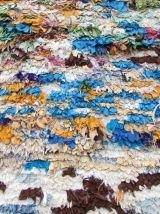 Tapis vintage Marocain Berber fait main, 1Q0324