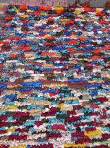 Tapis vintage Marocain Berber fait main, 1Q0328