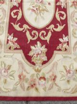 Tapis vintage Ouzbek Bukhara fait main, 1Q0329